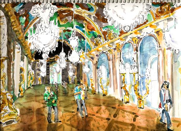 Galerie de Glace, Versailles