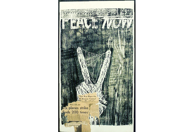 1971, -73 – Peace Now! Poster