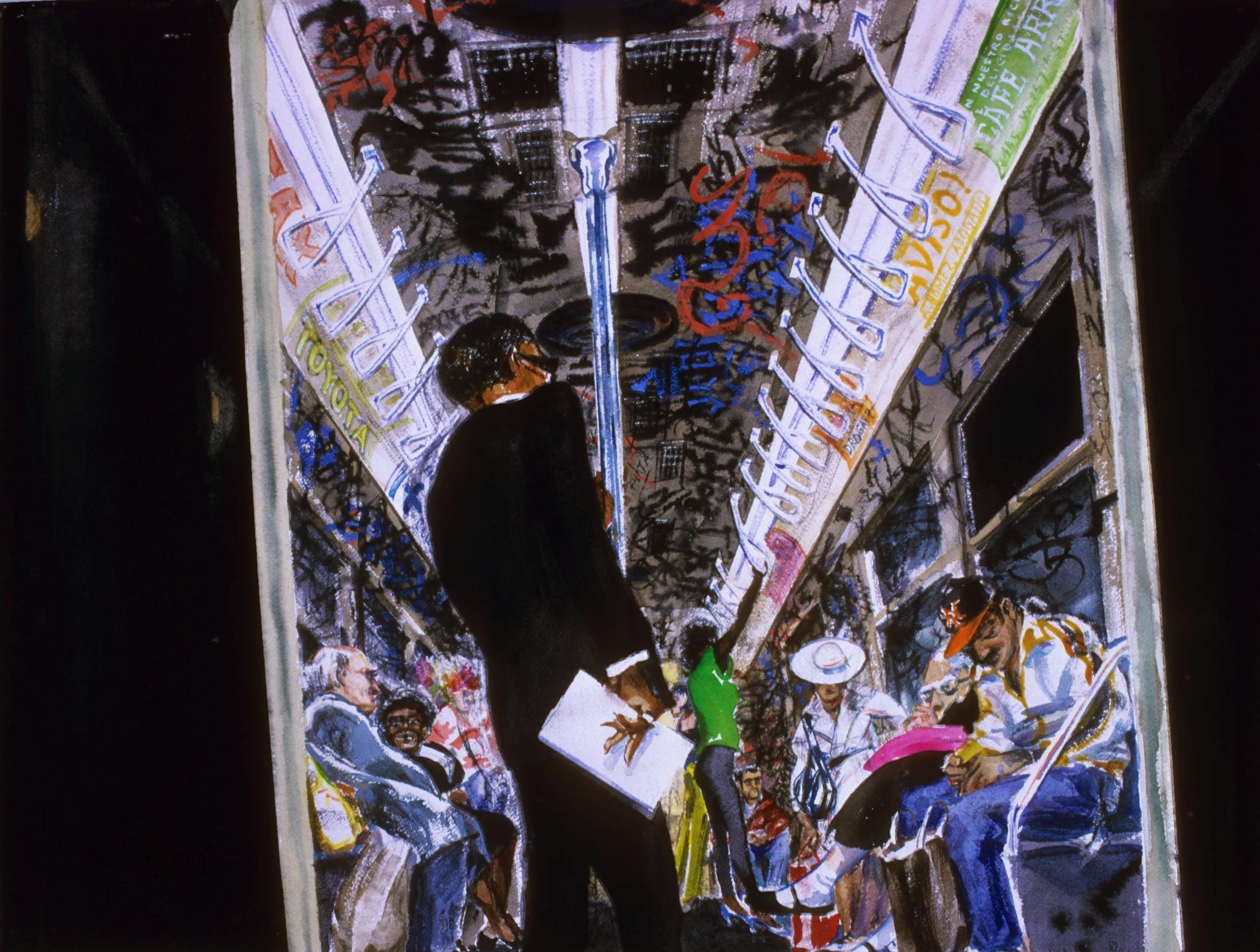 1984 – New York Subway