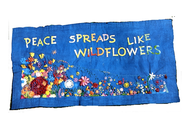 1985 – Peace Spreads like Wildflowers