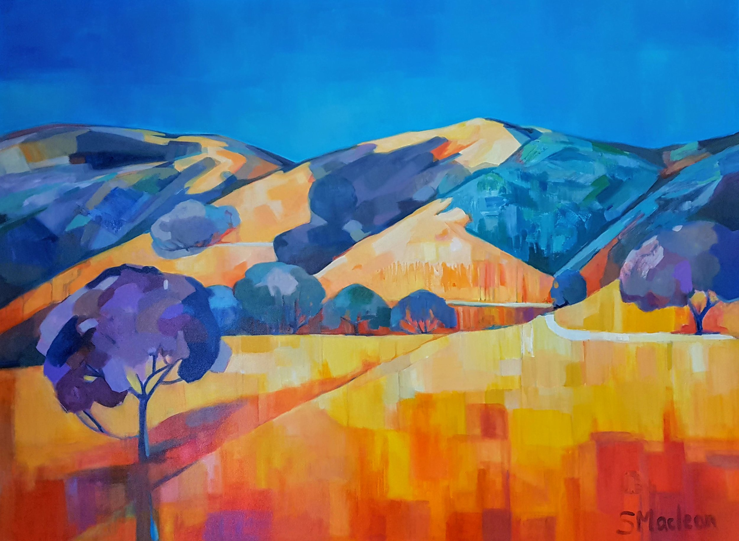 Mt Hamilton Foothills 48x36 $3400