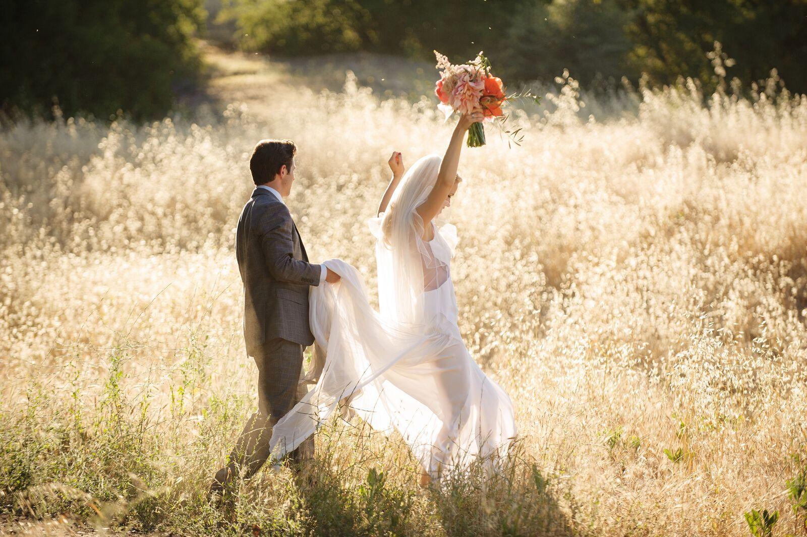 Saddlerock Ranch Spring Wedding, Malibu