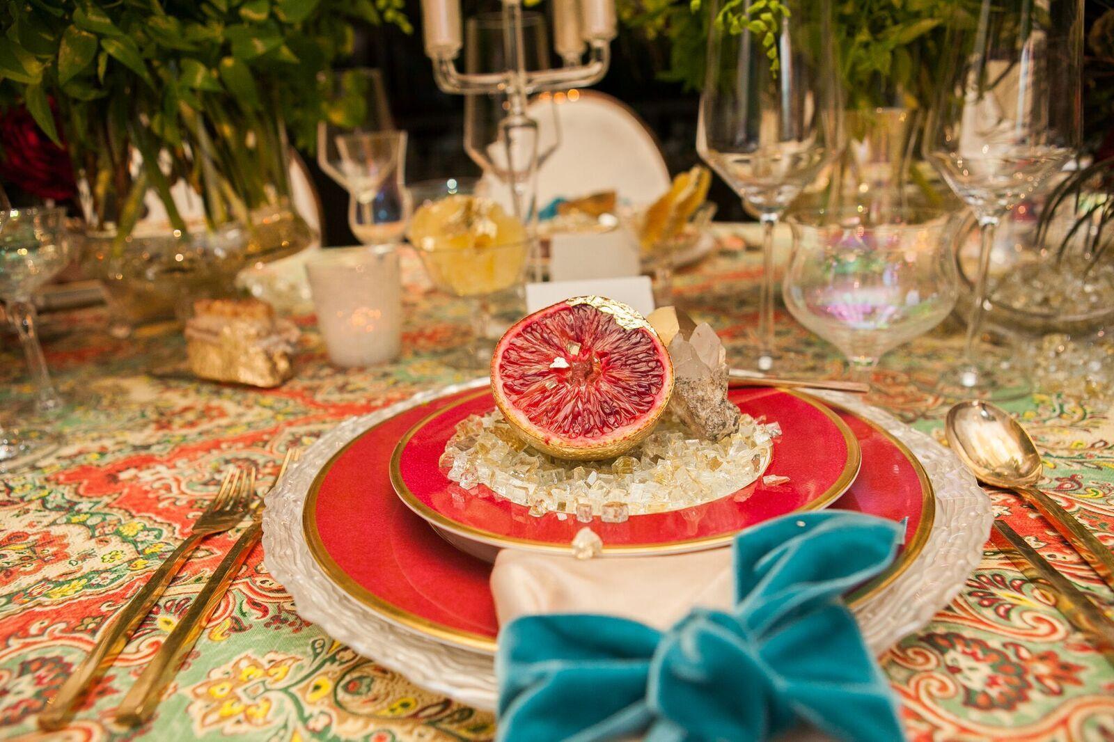 Styled Boho Chic Wedding Tabletop Shoot