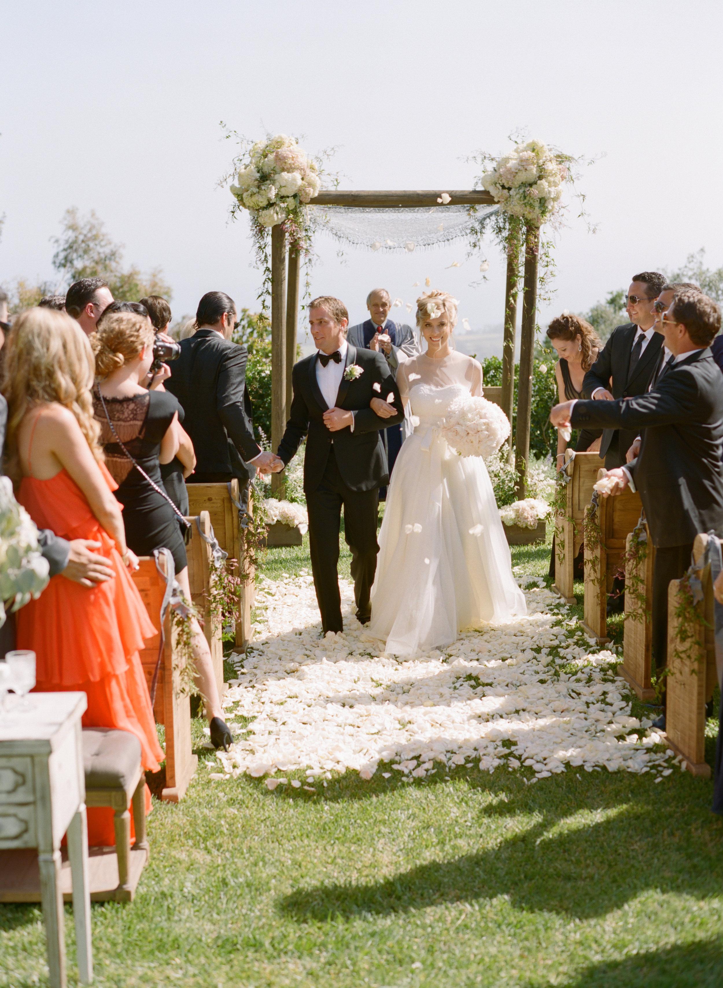 Private Estate Spring Wedding, Santa Barbara
