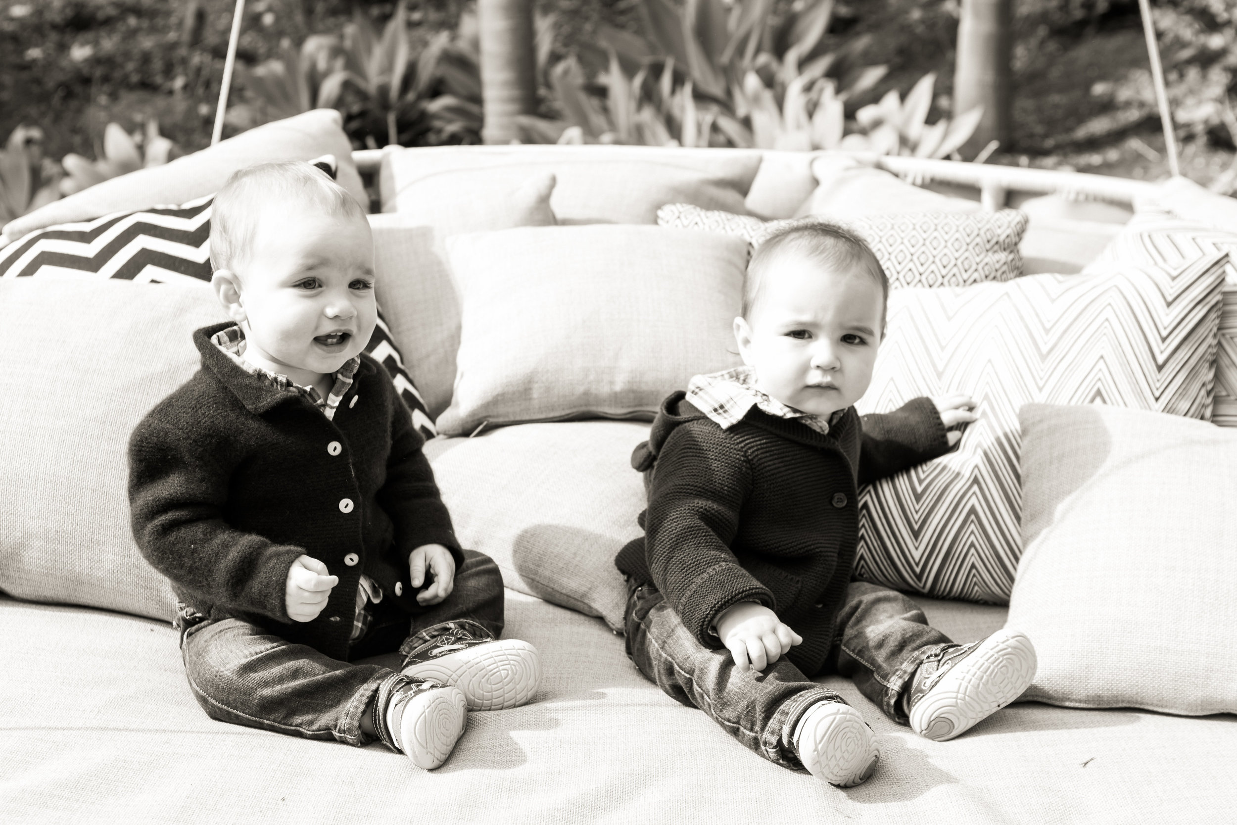 One-Year-Old Twins Birthday Party