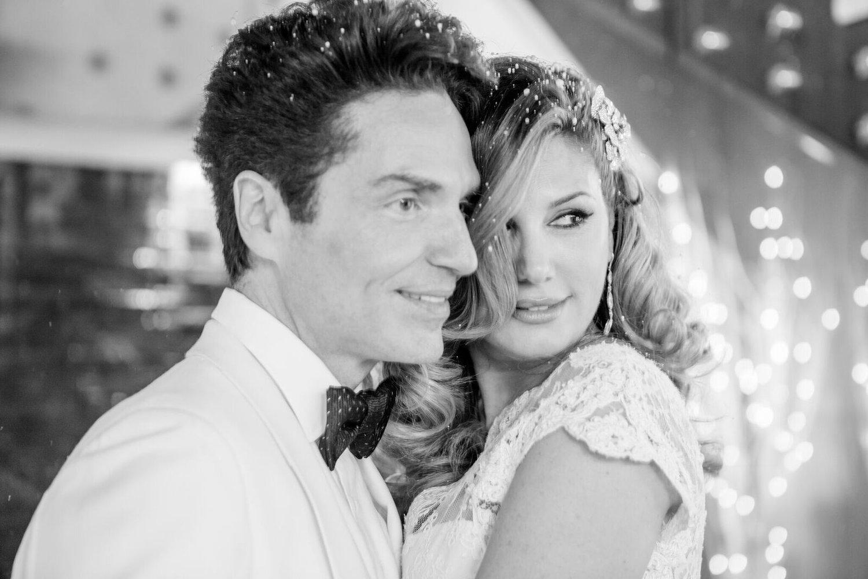 Daisy Fuentes & Richard Marx Wedding Party