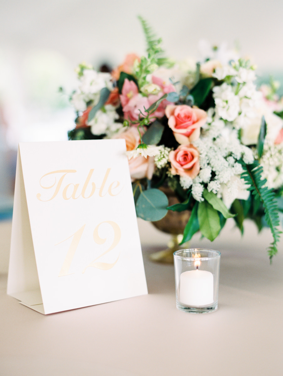Floral Arrangement and Table Number Ideas