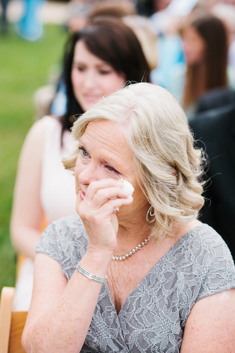 Mother of the Bride Crying