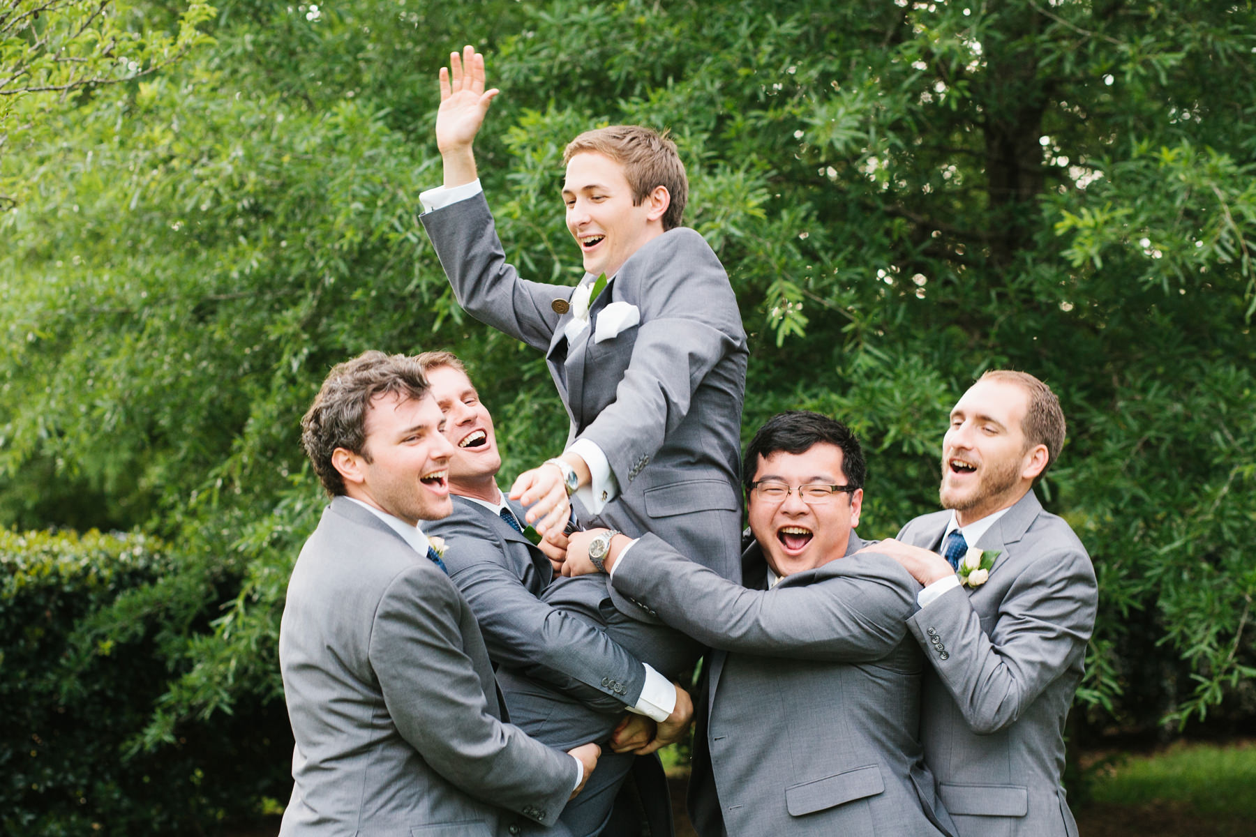 Groom and Groomsmen Fun