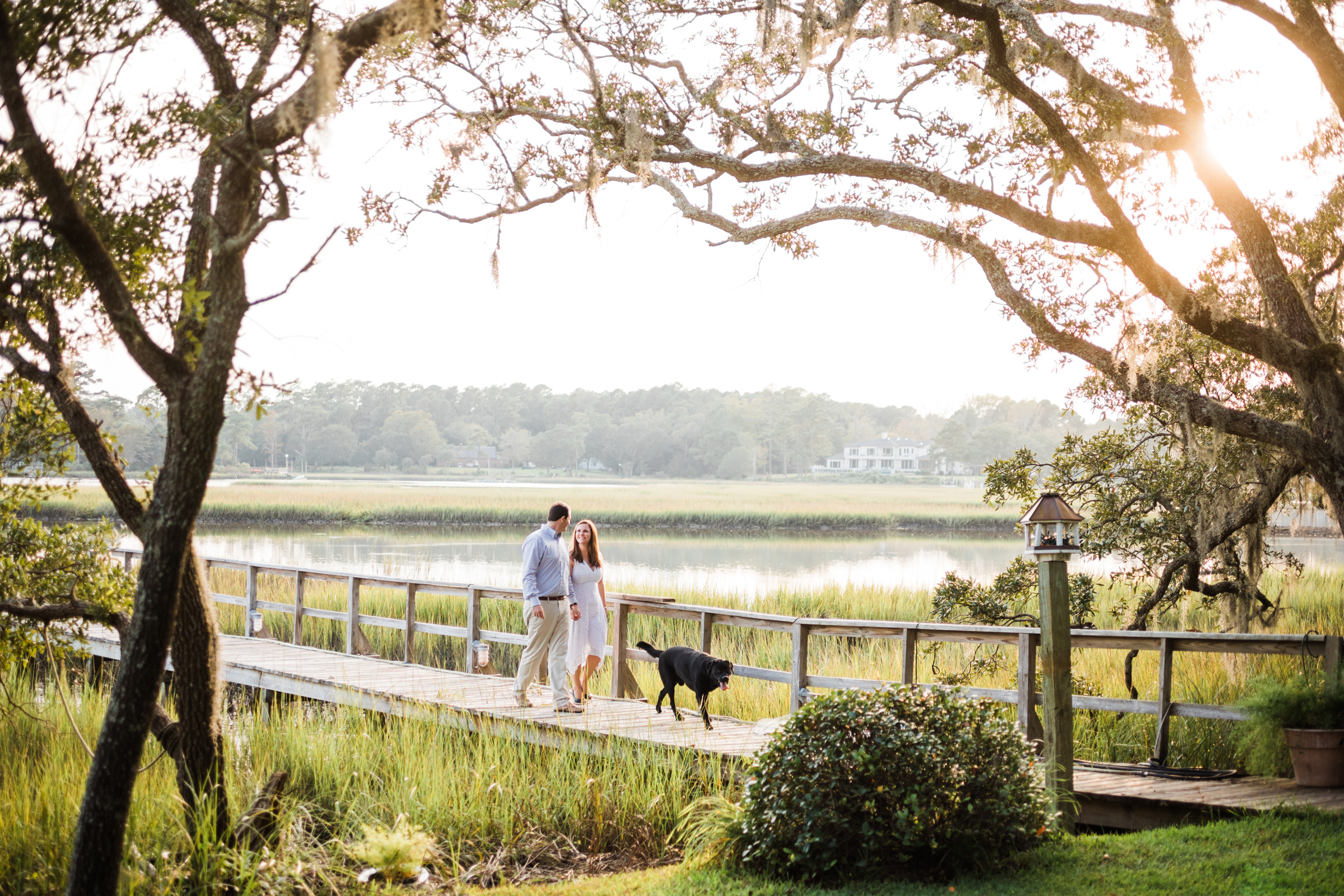 Wilmington NC Marsh Engagement Session