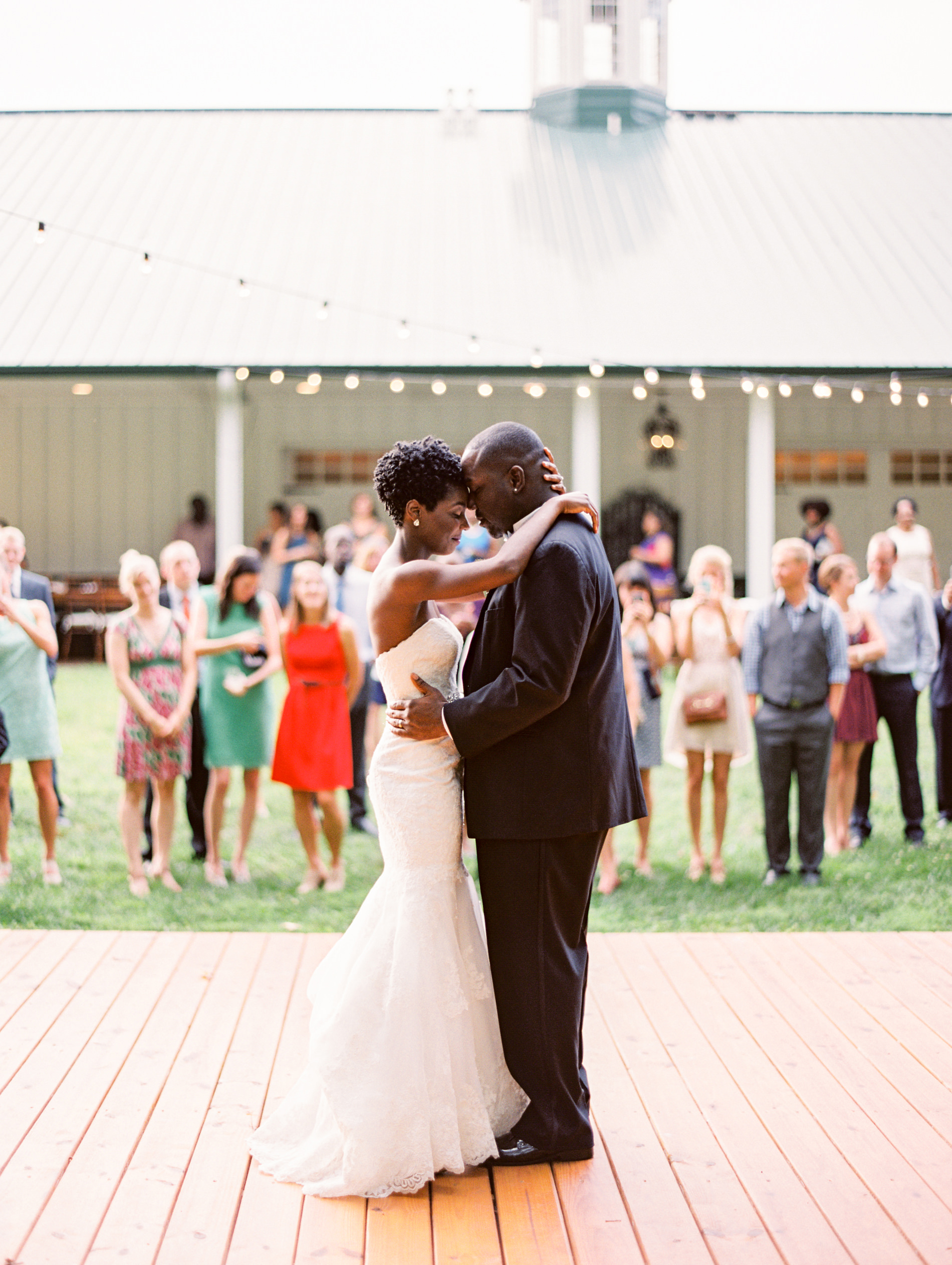 Mountain View Farm Wedding First Dance, Rougemont NC