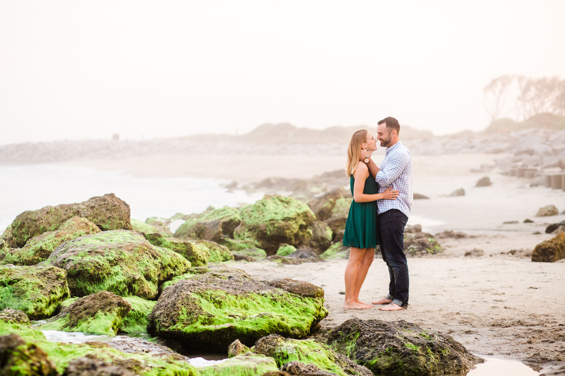 Fort Fisher Engagement Session, Kure Beach NC