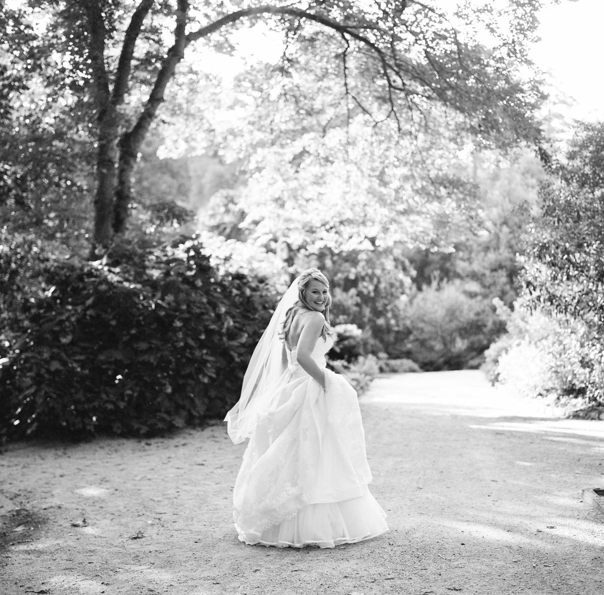 Duke Gardens Bridal Session, Durham NC