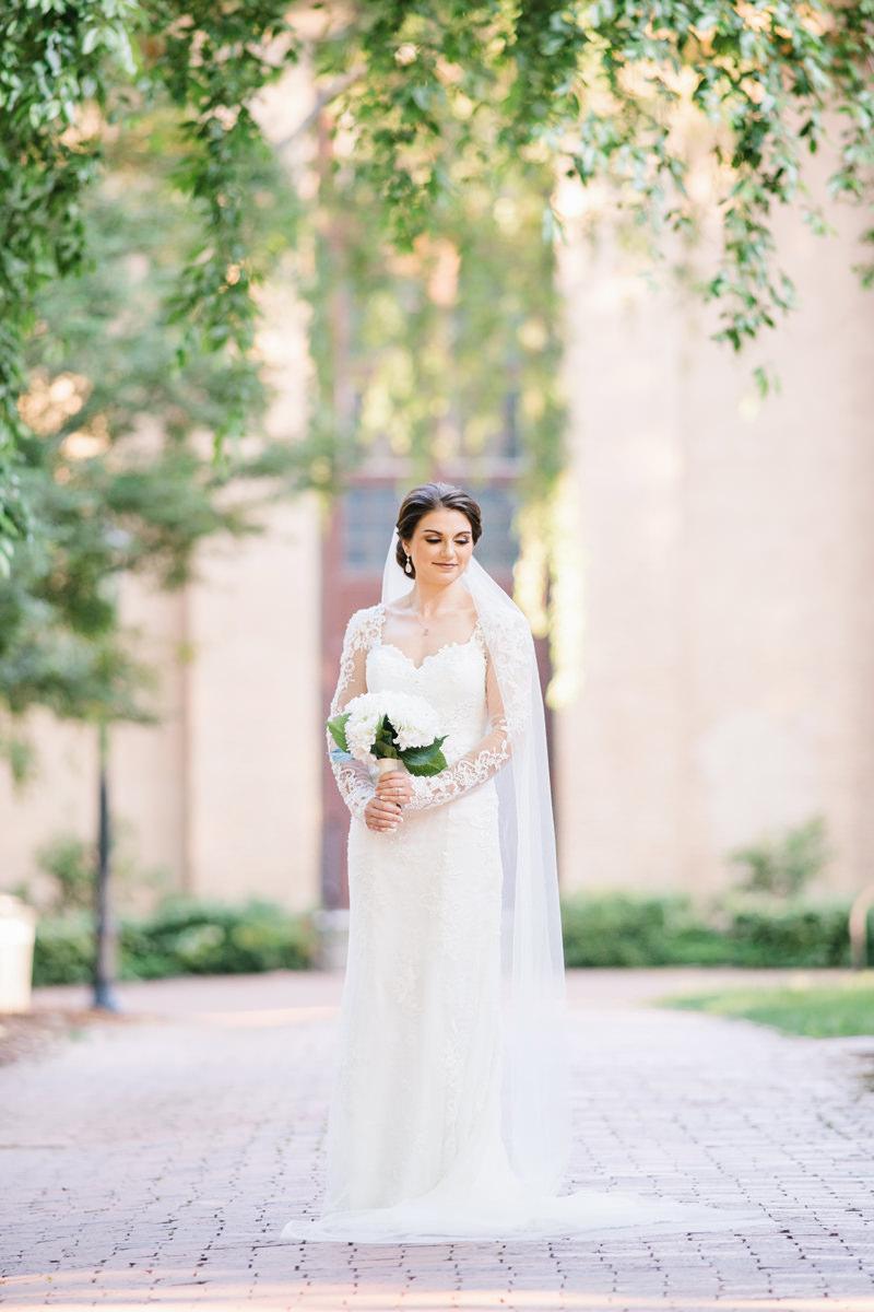 UNC Chapel Hill Bridal Session
