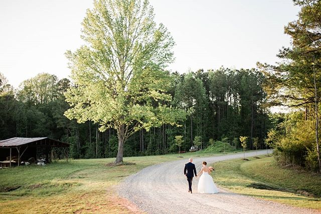 Pamela & Aaron walking off into the sunset at the Pavilion at Carriage Farm . . . . . . . . #incontrastimages #pavilionatcarriagefarm #farmwedding #farmweddings #farmweddingvenue #farmweddingideas #barnwedding #barnweddings #barnweddingvenue #raleighwedding #raleighweddings #raleighweddingvenue #raleighweddingphotographer #raleighweddingphotography #northcarolinaweddingphotographer #ncweddingphotographer #ncweddingphotographers #ncweddingphotography #ncwedding #ncweddings #northcarolinawedding #ncbride #southernwedding #naturallightphotographer  #weddingphotography #weddingphotographer #weddinginspiration #weddinginspo #hybridweddingphotographer #mastinlabs