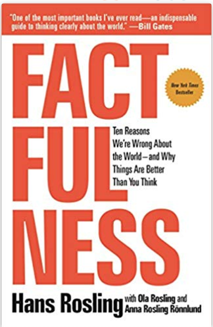 - This book was on Bill Gates Summer reading list last year and we're finally getting around to reading it. Each chapter tells a great story about how to think about data in the context of real life.