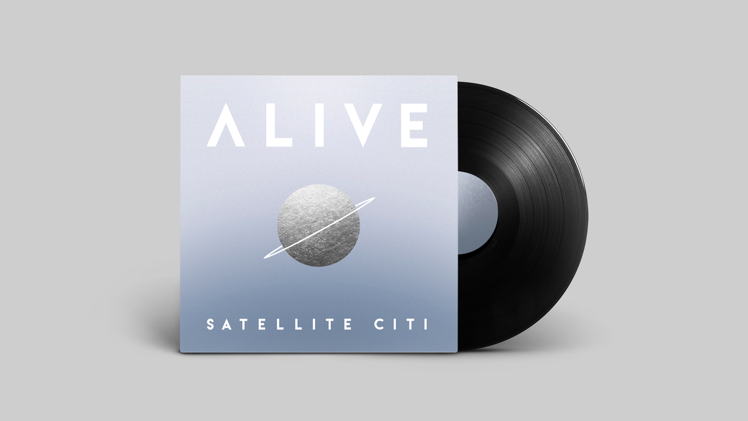 """Alive"" Album Art for Satellite Citi"