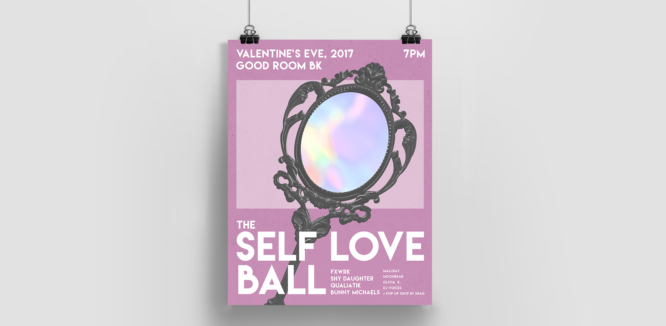 Poster for The Self Love Ball at Good Room, BK