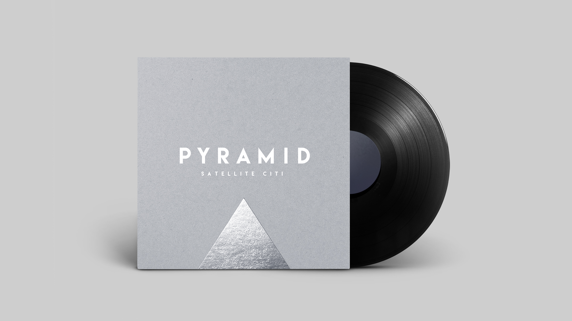 """Pyramid"" Album Art for Satellite Citi"