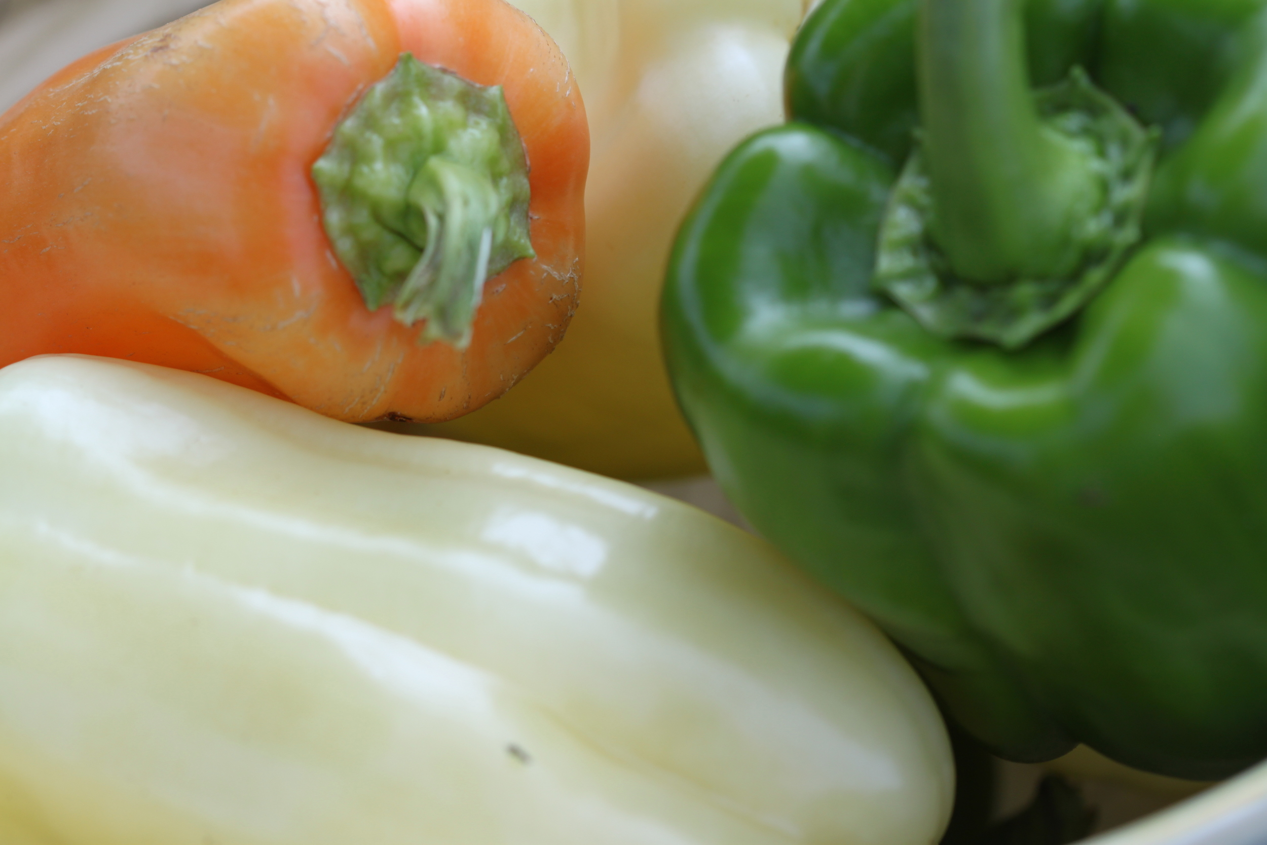 Peppers - Ivory Bell & Green Bell