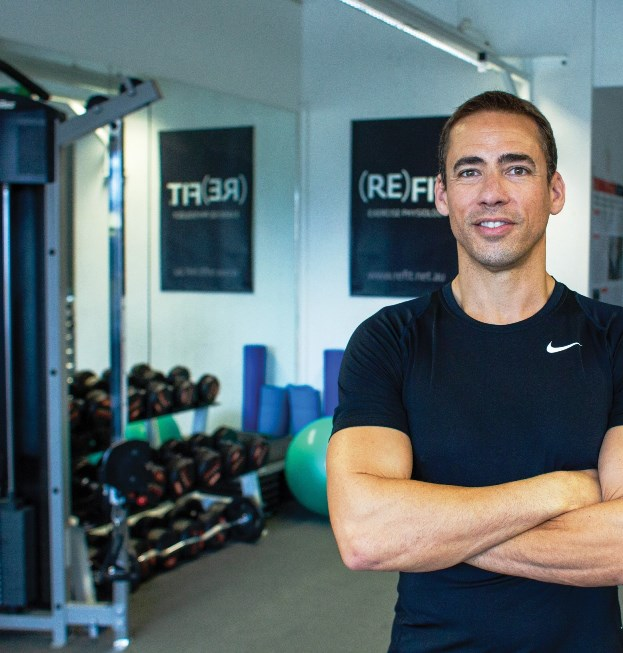 """I have been studying, researching, teaching and providing health and fitness services for over 25 years. I genuinely love helping people improve their lives by optimising physical function and enhancing health holistically."" KNUT THOMAS SCHNEIKER, Dip. Health Science, BSc (Hons 1st class), PhD Candidate, AEP MESSA, Owner/Principal (RE)FIT Exercise Physiology."