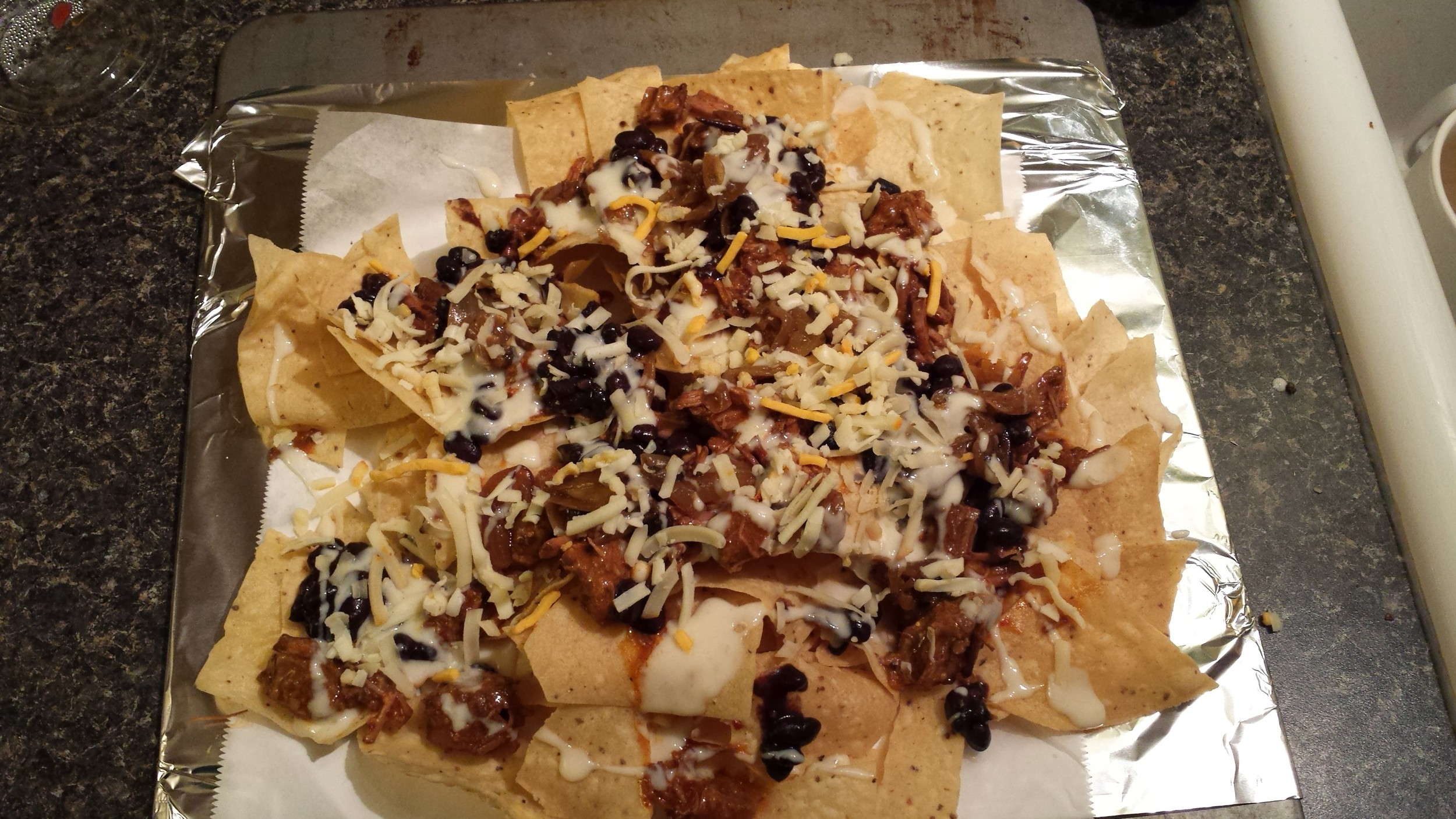 Extravagant Texas Chili Nachos