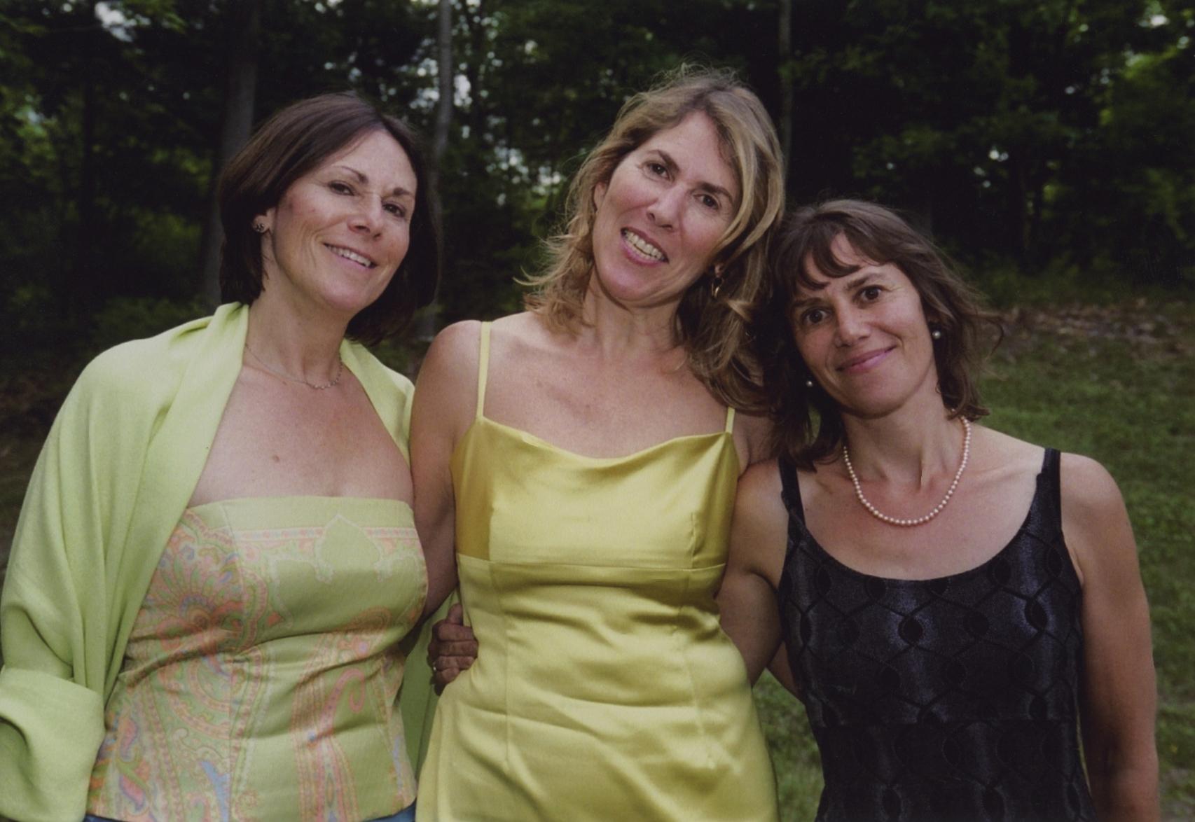 Katy, Liz and Maggie