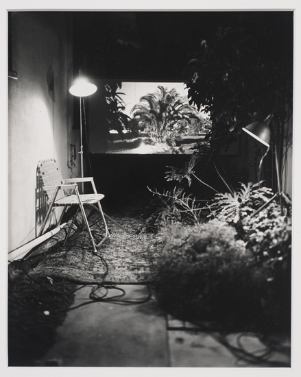 Spot with a Nice View, 1973, Orange CA, 1973  © Robert Cumming