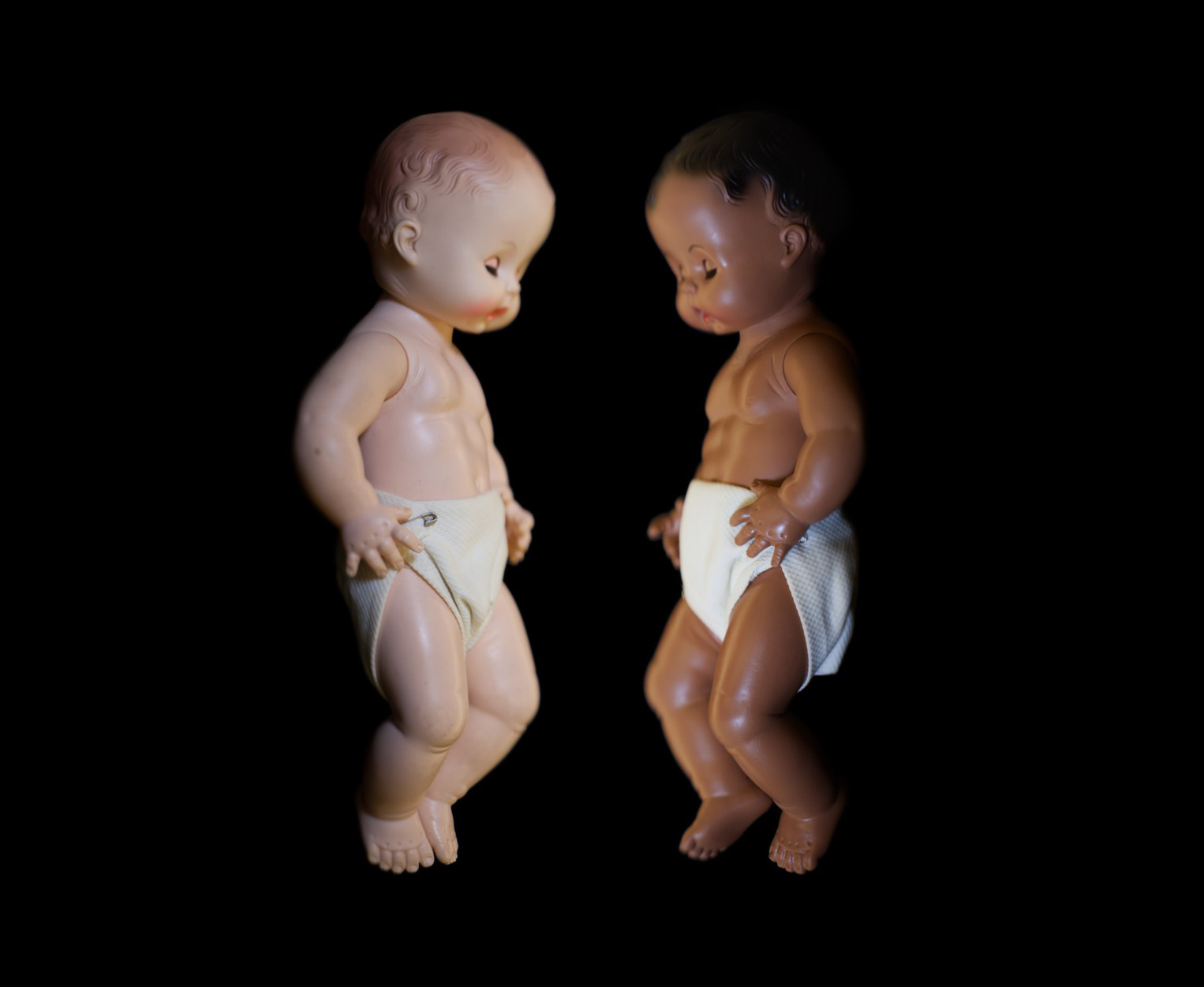 ©   Wendel White   Baby Dolls, Kenneth and Mamie Clark, NMAAHC, Washington, DC  from  Manifest