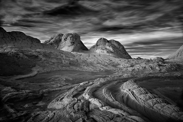 © Mitch Dobrowner  Sunset over Serpents Tail, Paria Plateau, Arizona
