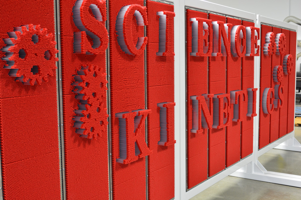 Pin Wall Science Kinetics