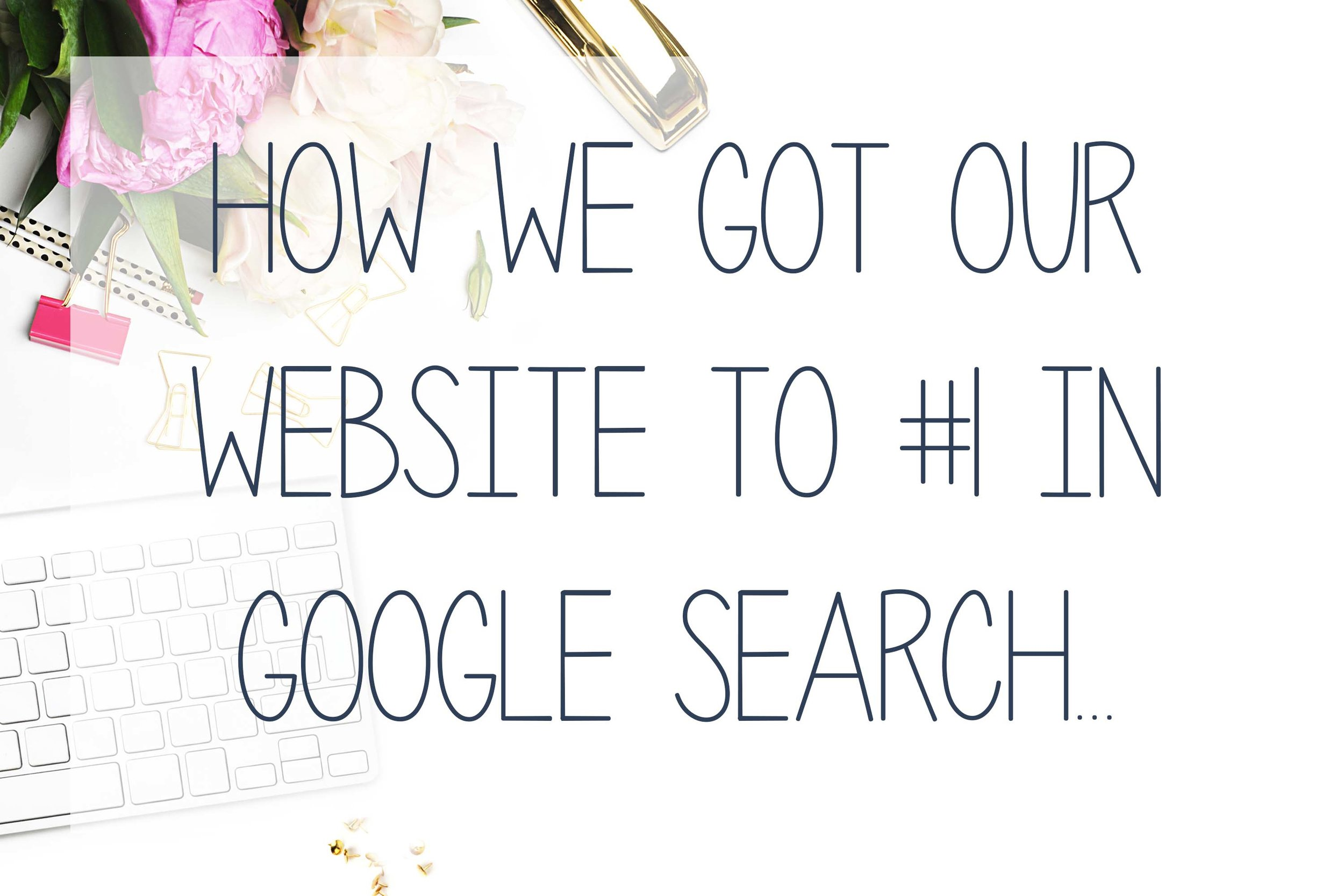 How we got our website to rank #1 in Google Search - Hub Digital Marketing, Rhode ISland.