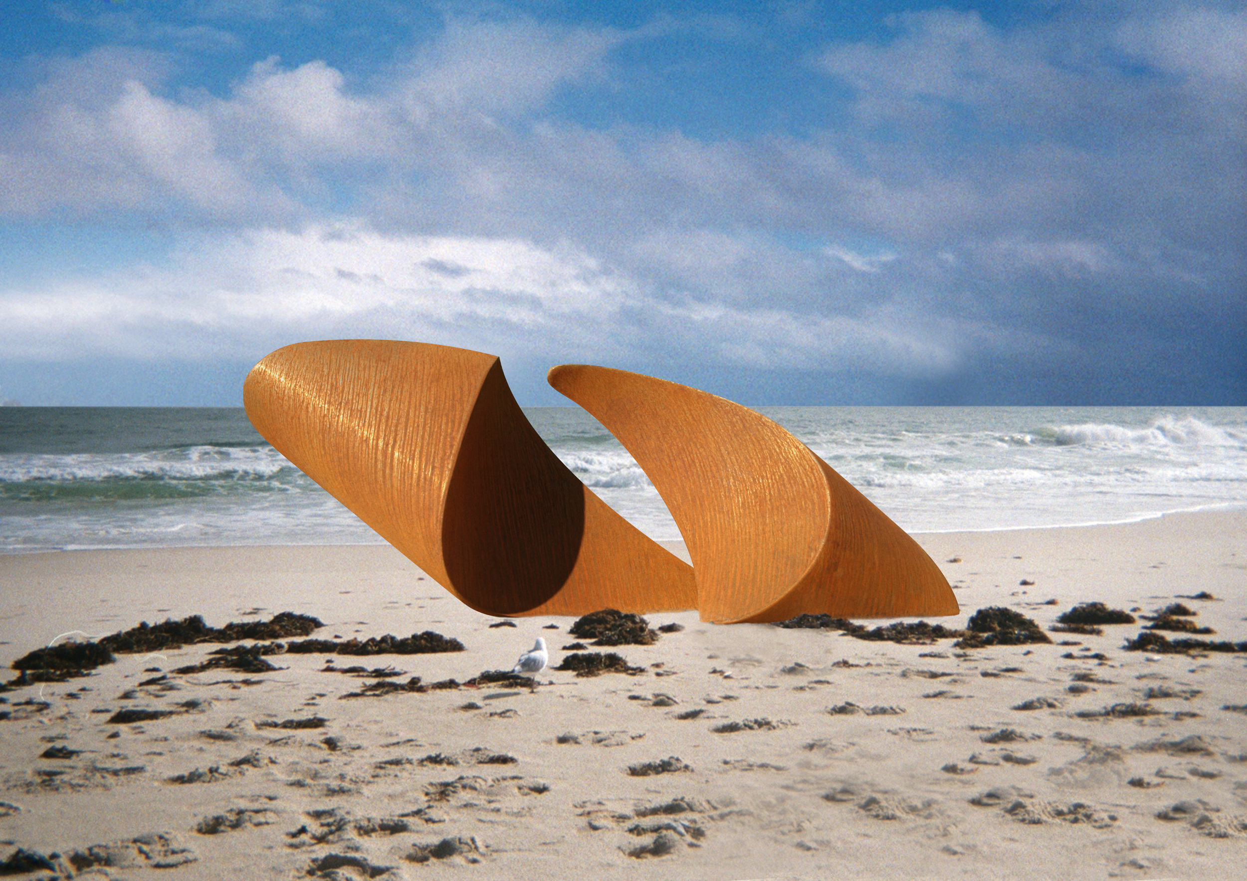 Draft marquette used to visualise full scale work for Sculpture by the Sea
