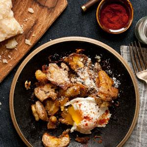 Pan Roasted Fingrerling Potatoes