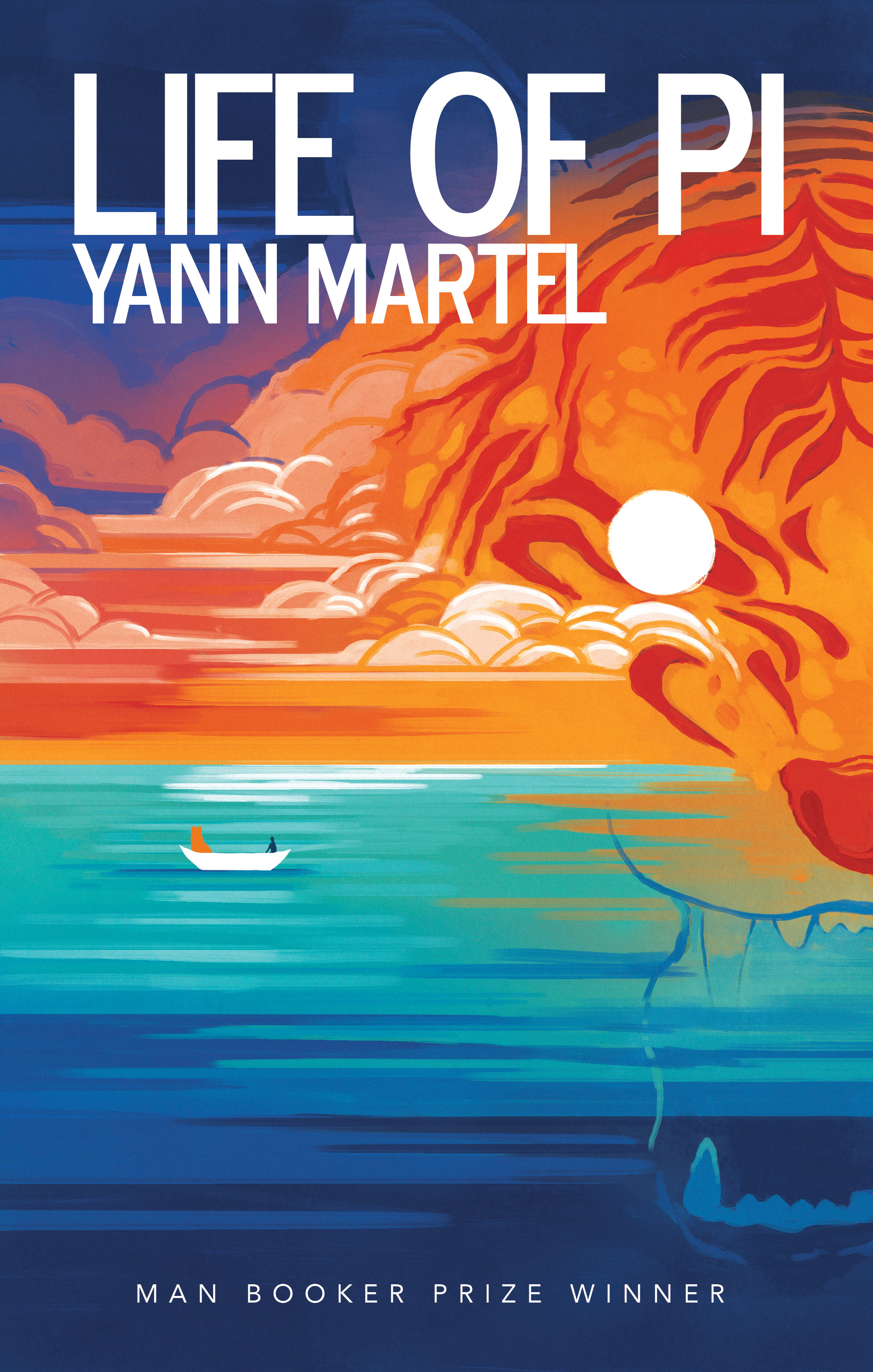 LIFE OF PI -  My Favourite Book of all time by Yann Martel