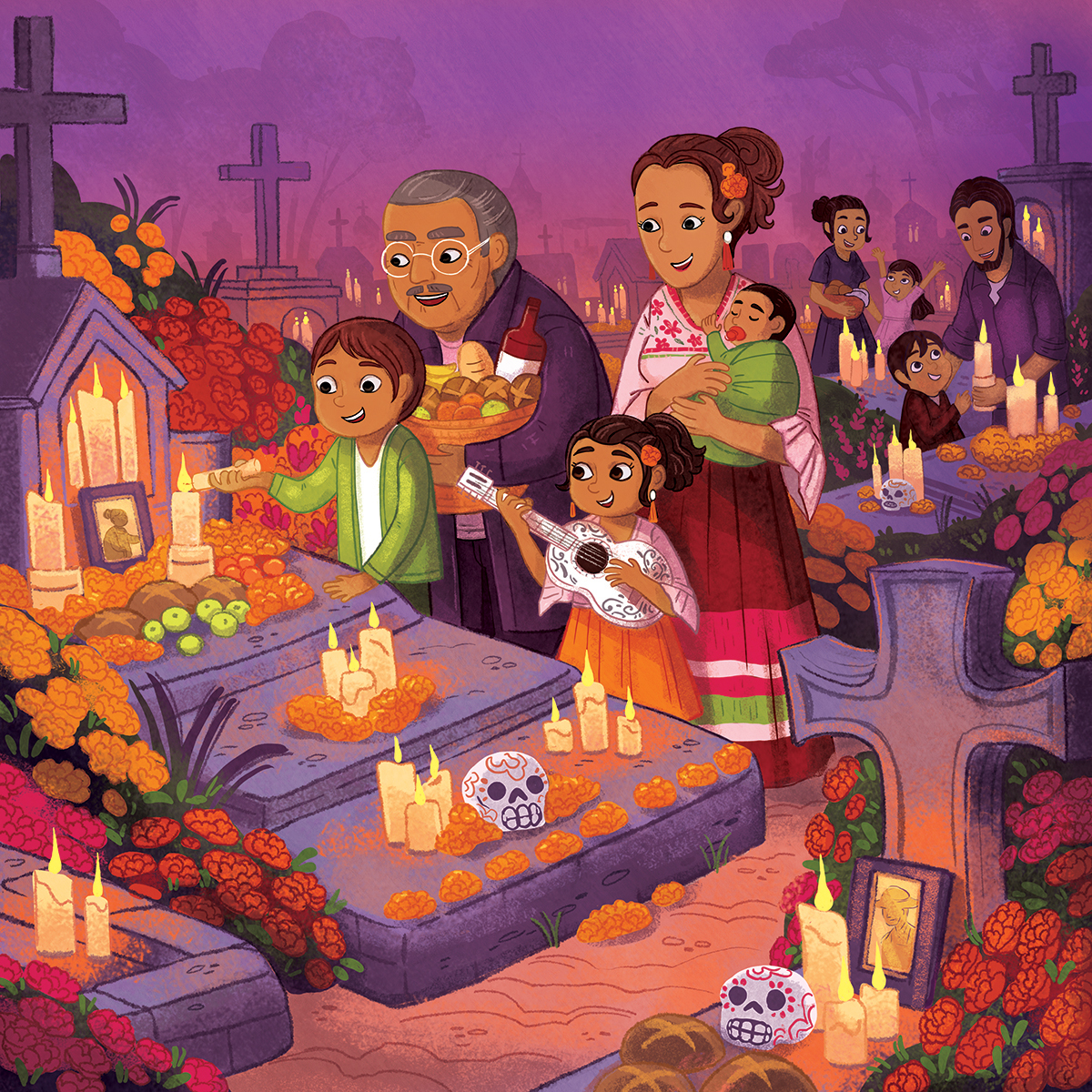 DayOfTheDead_Family_Mexican_Grandpa_GraveYard_Night.jpg