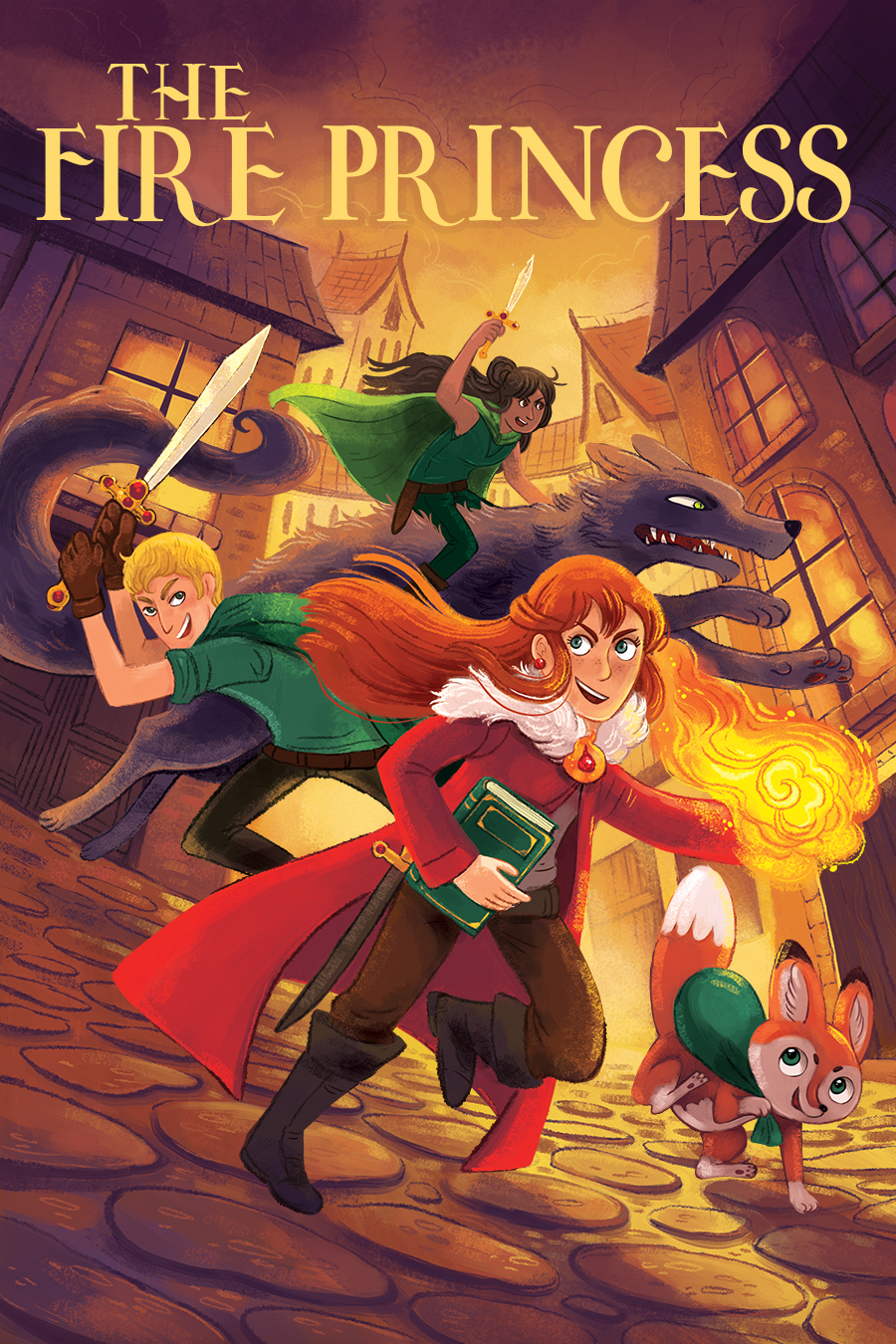 web_TheFirePrincesstext_Cover_teen_middlegrade_fantasy_action_bookcovers_fire_femaleprotagonist_fox_swords_city.jpg