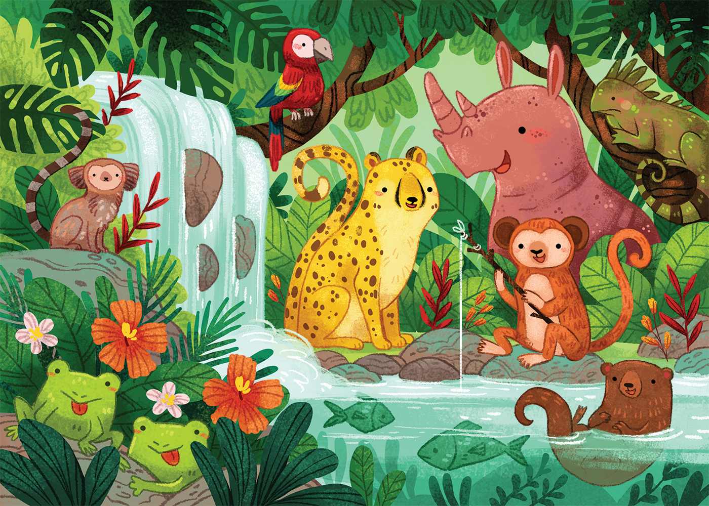 Jungle Illustration!