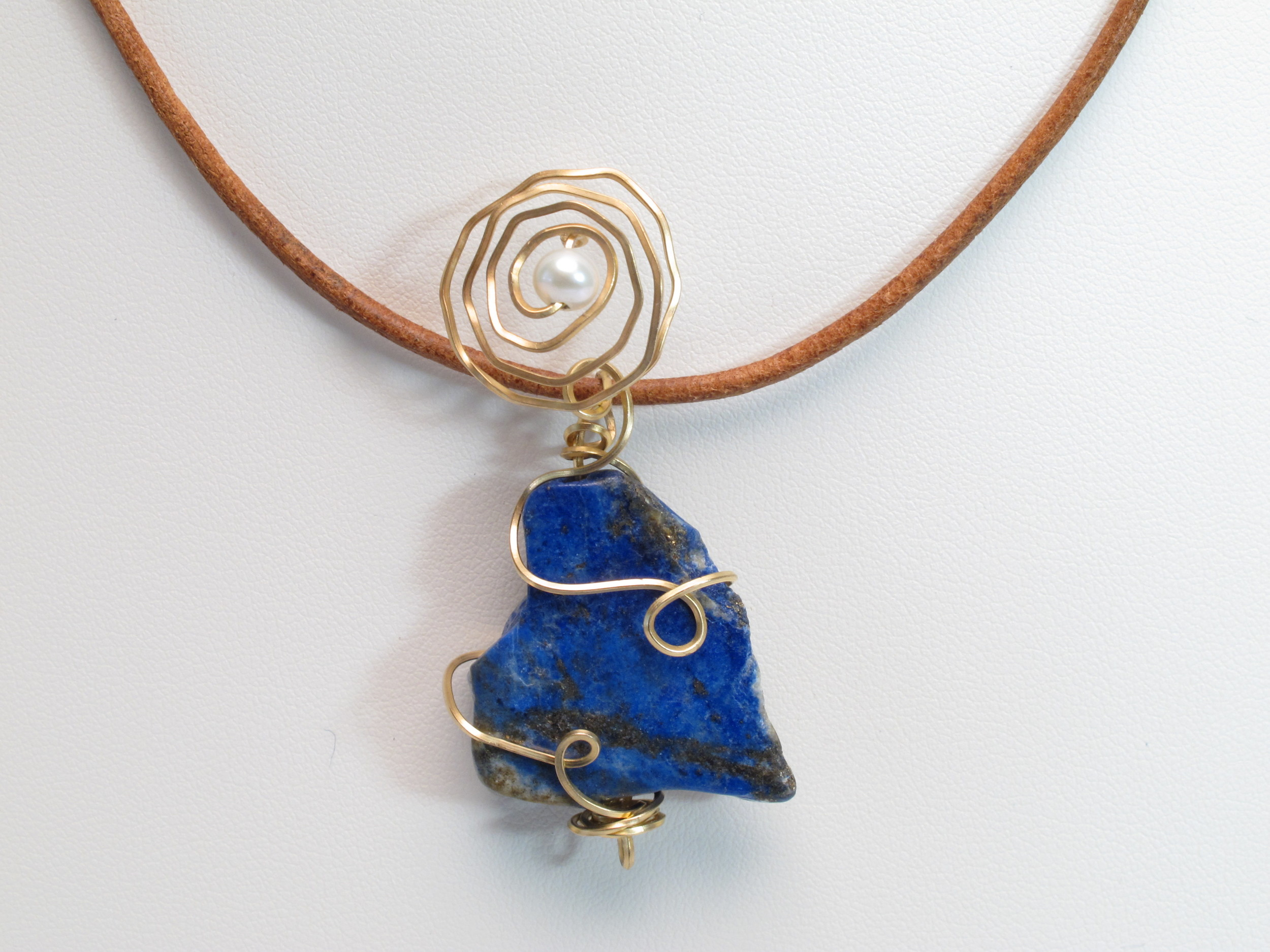 Wire Wrapped Jewelry Pendant and Necklaces