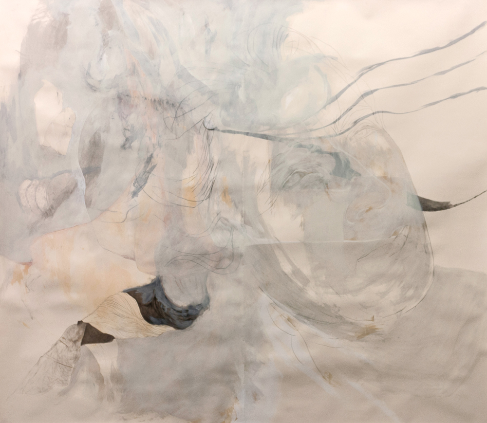 "Madre, Mixed Media on Paper, 100"" x 90"", 2012"