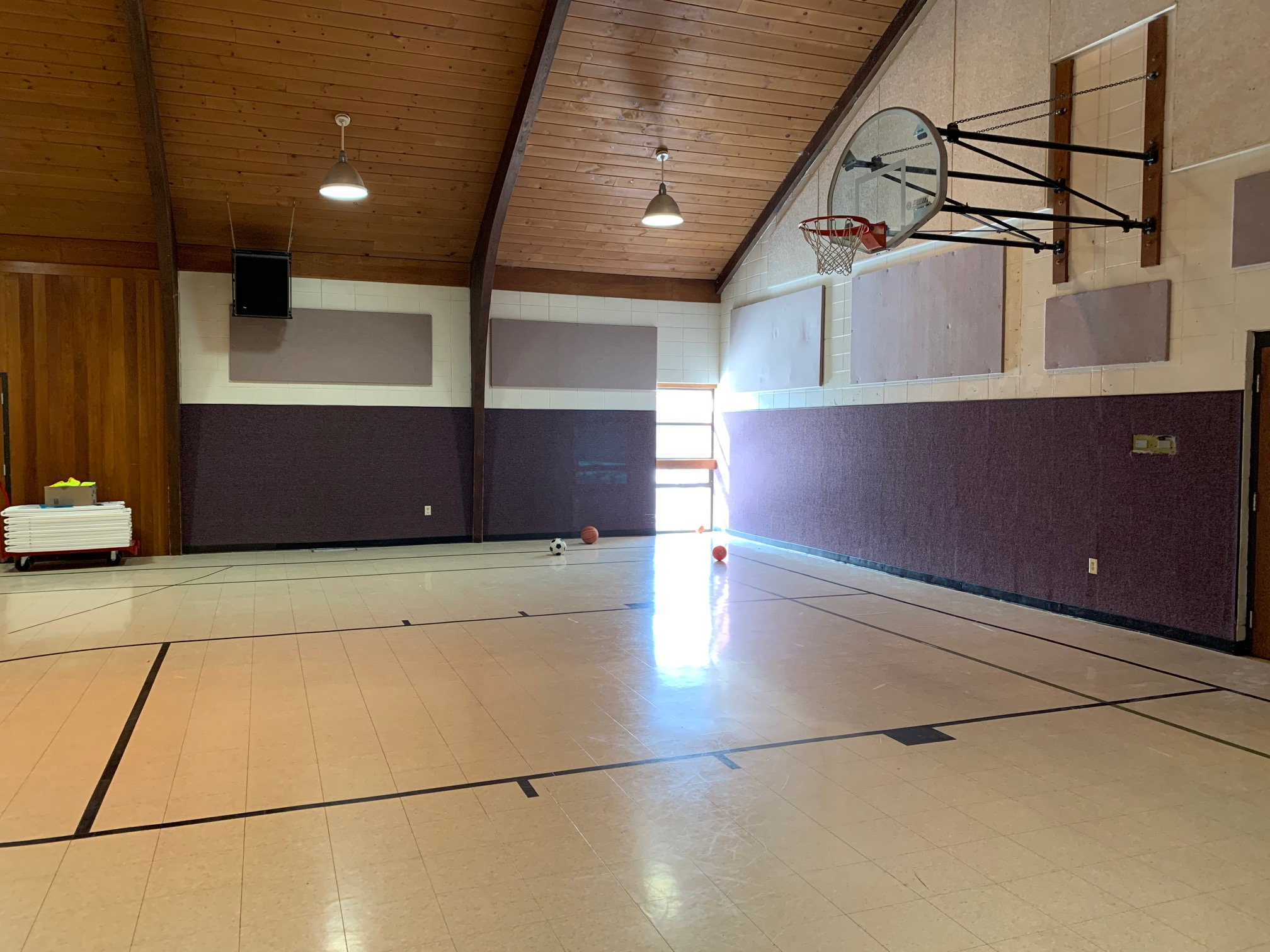 GYM - Great for: Sporting Events, Parties, & Large events.Accommodates up to 300 peopleCost: $40 per hour