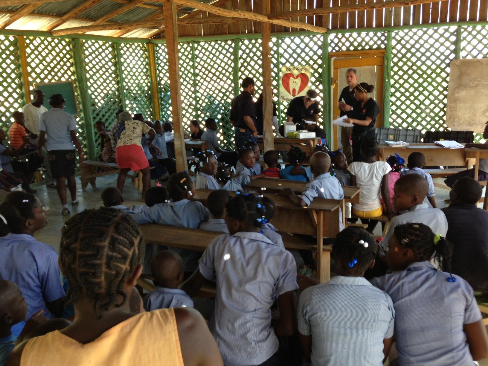 Triage in Haiti