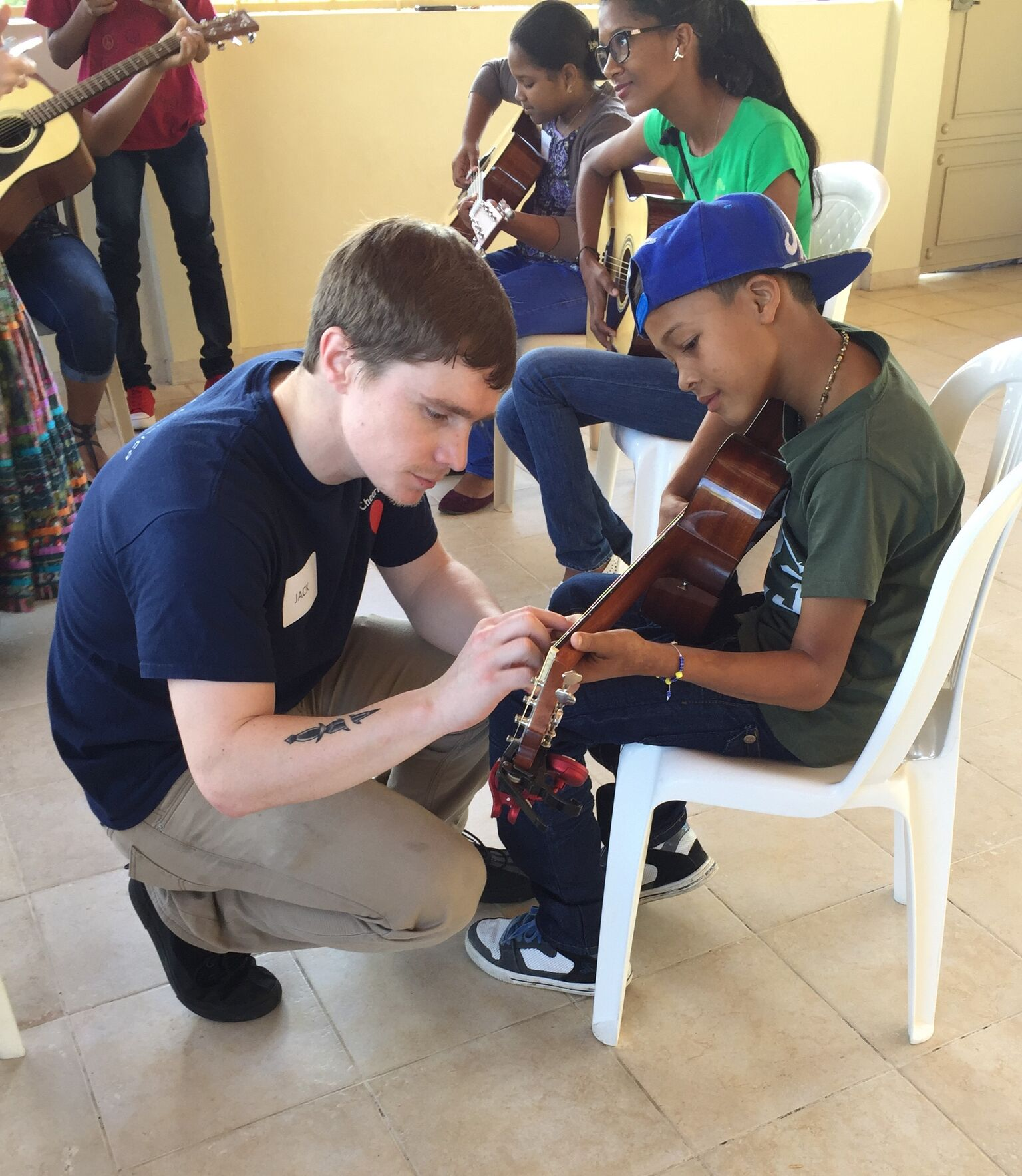 Jack Taubl Instructs in the Dominican Republic