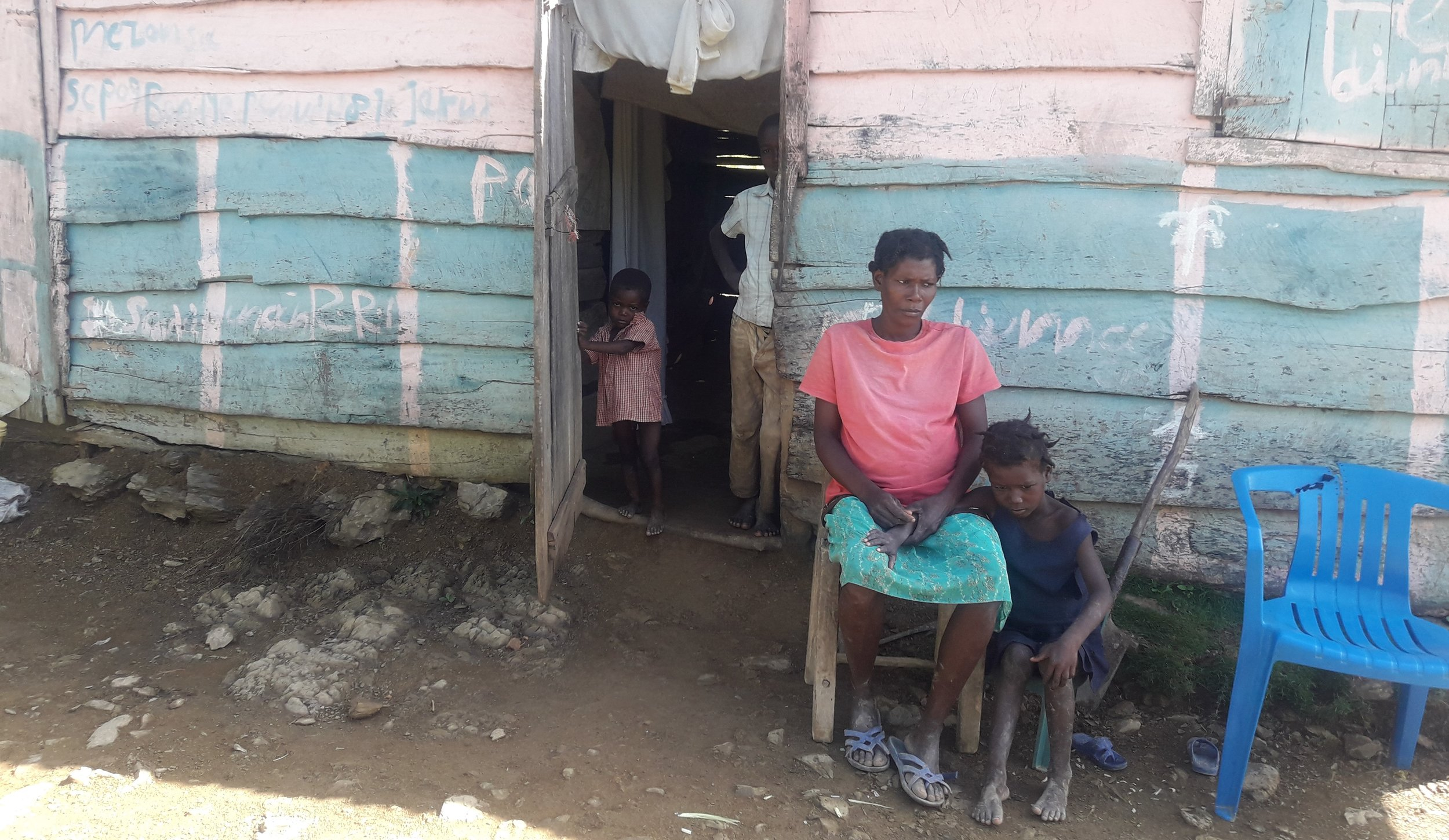 Children living in Lagua are at greatest risk.