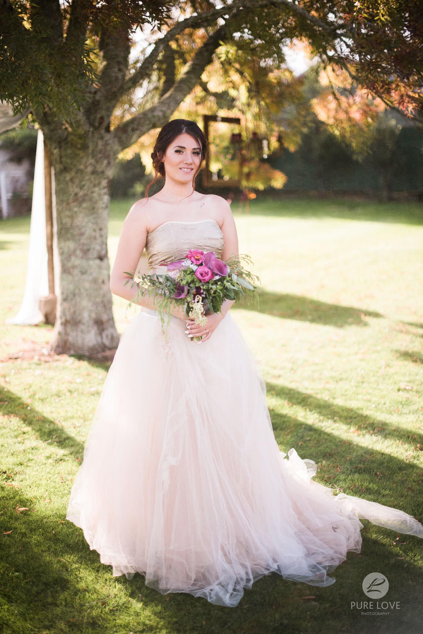 beautiful bride at vr lake resort