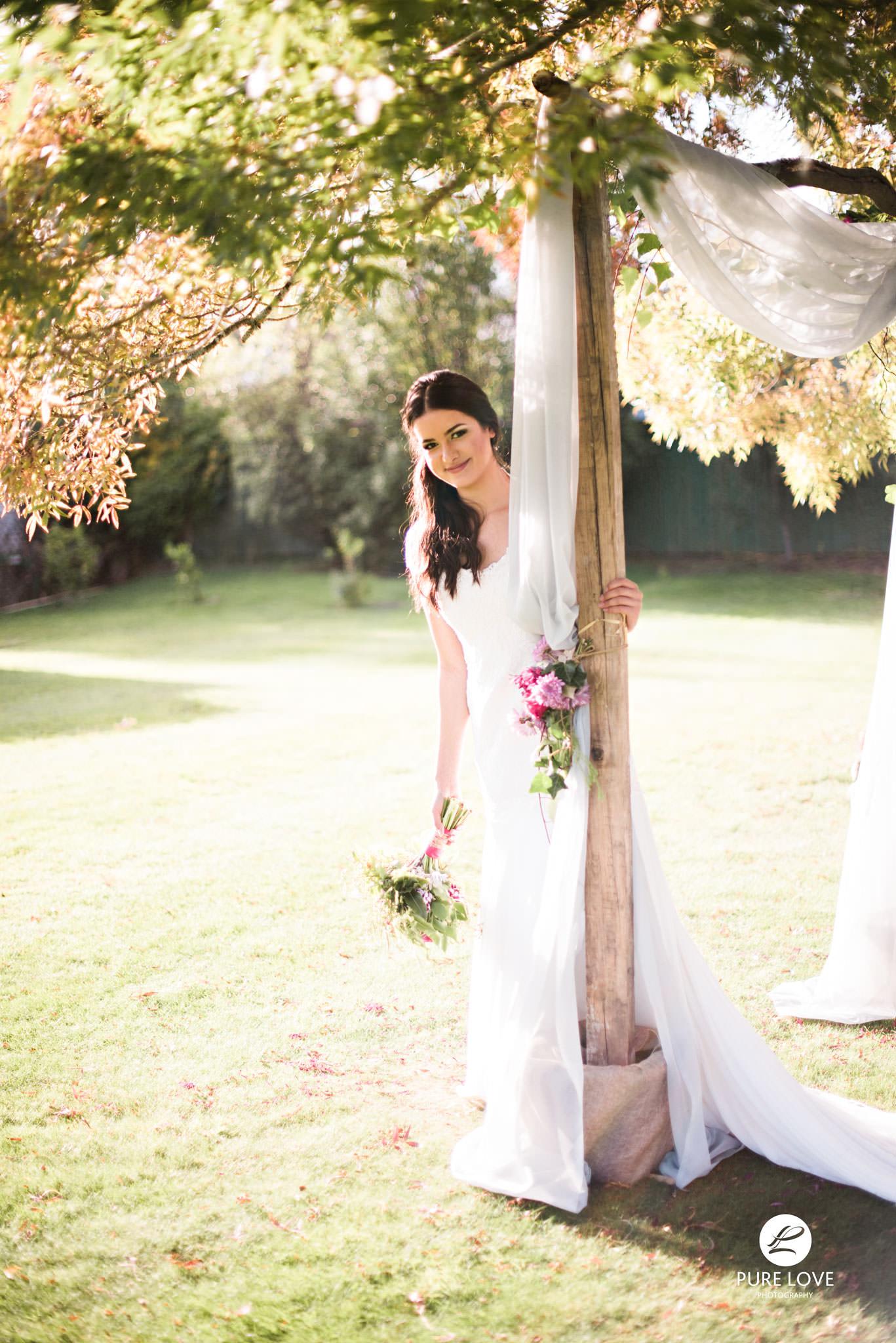 lovely bride boho style