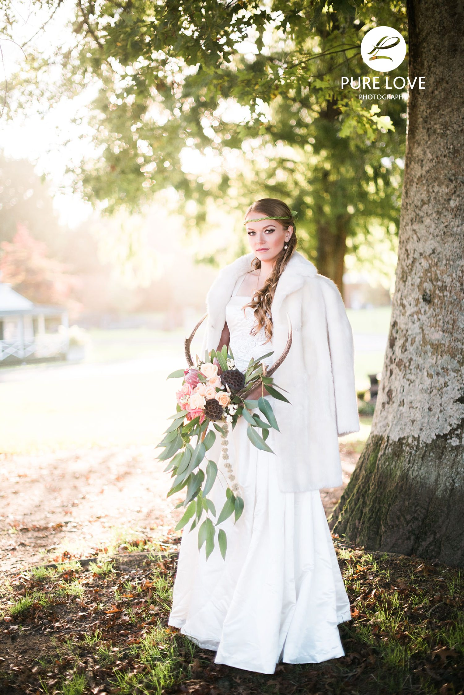 Bride with Golden Light