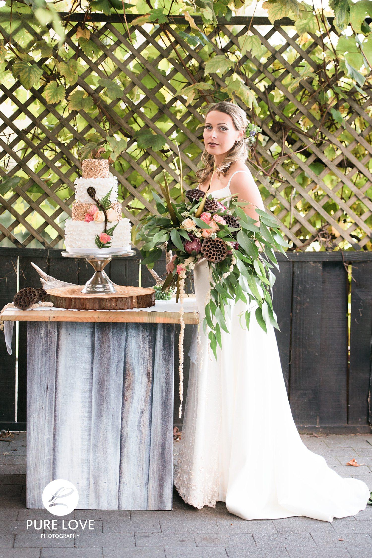 Wedding Cake by  Our Cake Company , Rotorua.