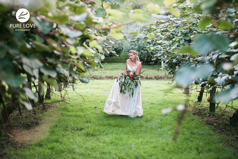 kiwi fruit wedding