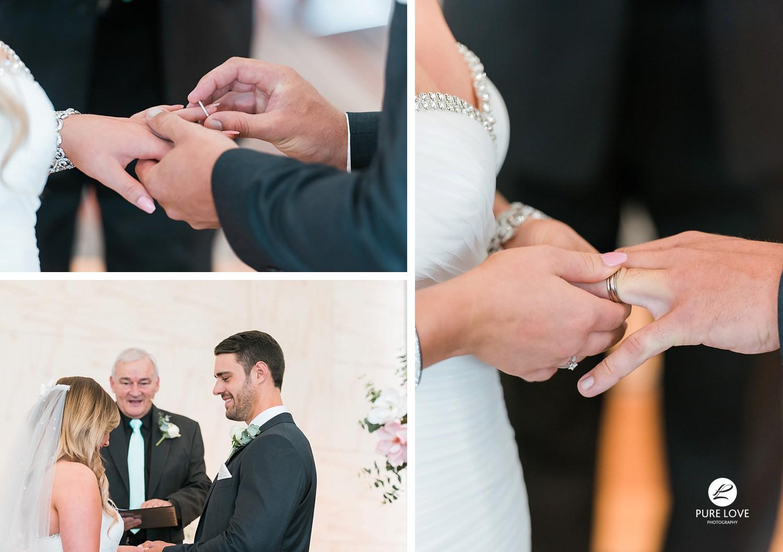 ceremony rings exchange